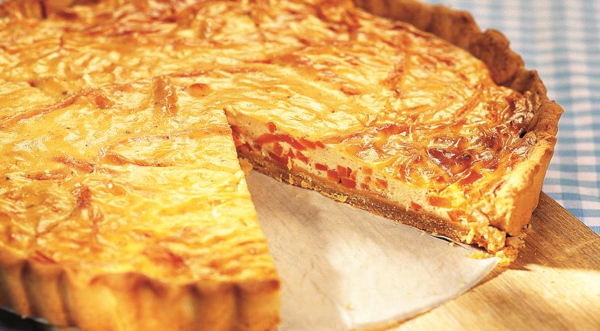 Open Pie with Carrots