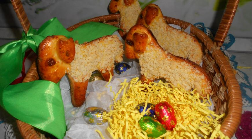 Cheese Easter Lamb