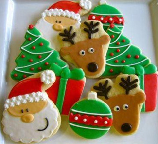 New Year's gingerbread cookies from Finland