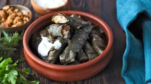 Dolma with Rice and Raisins