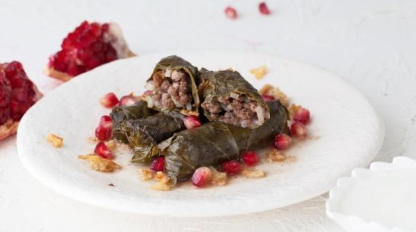 Turkish Dolma with Fried Filling