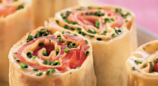 Lavash Roll with Redfish