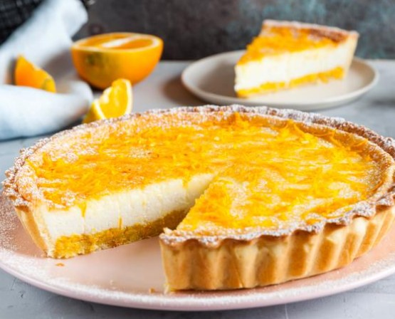 Pie with Orange Curd Filling