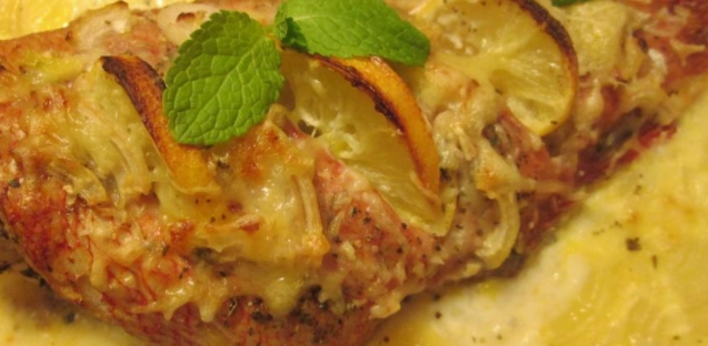 Sea Bass with Lemons and Oranges