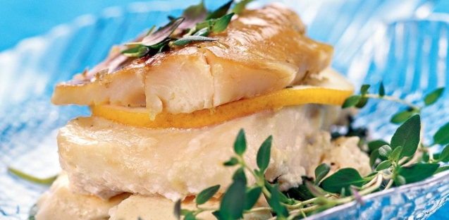 Fresh and Smoked Fish in Herbs