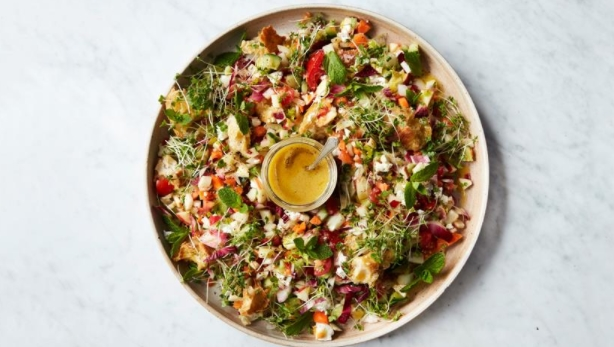 All In The Fridge Salad by Jamie Oliver