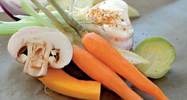 Baked Vegetables in Parchment