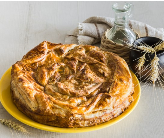 Puff Pastry Cabbage Pie