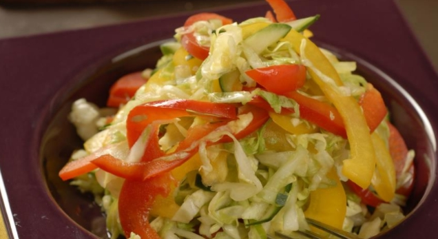 Young Cabbage Salad