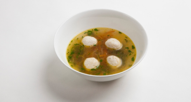 Diet Vegetable broth with Meatballs