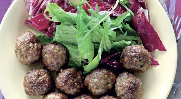 Lamb Meatballs with Cumin stuffed with Grapes