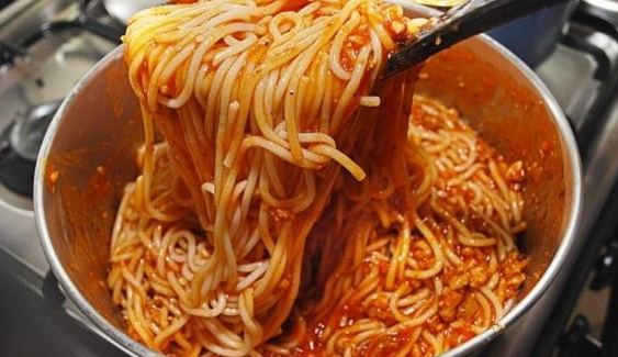 Spaghetti Sauce with Minced Meat