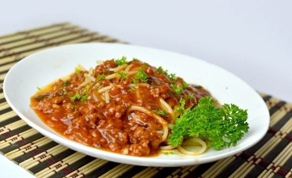 Minced Meat Sauce for Spaghetti