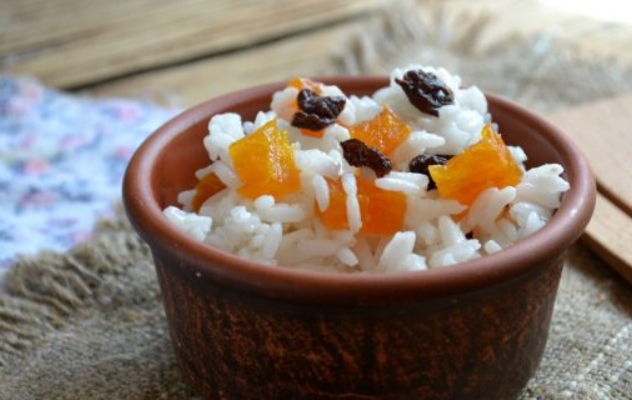 Rice with Dried Fruits