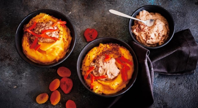 Dried Apricot Porridge