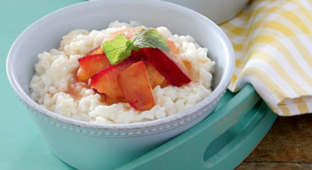 Rice Porridge with Fruit