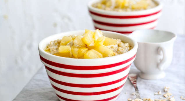 Oatmeal with Pear
