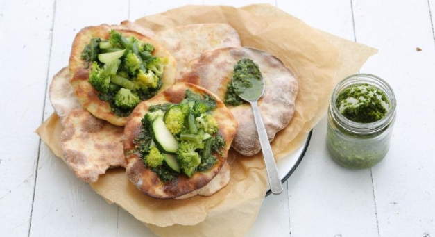 Herb Pesto Tortillas