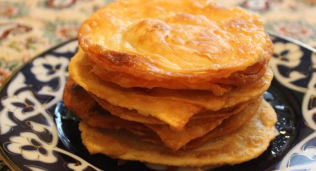 Katlama Fried Puff Pastry