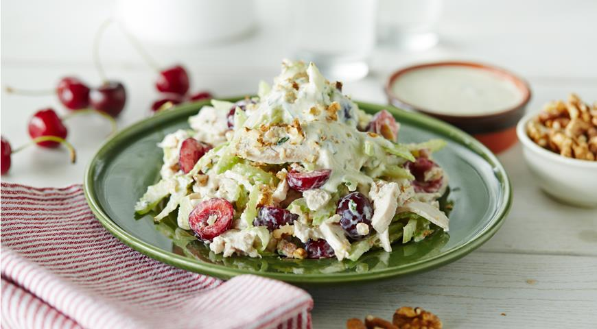 Chicken Salad with Tarragon and Cherries