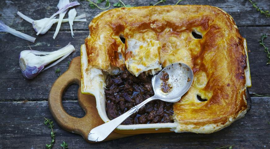English Style Beef Pies