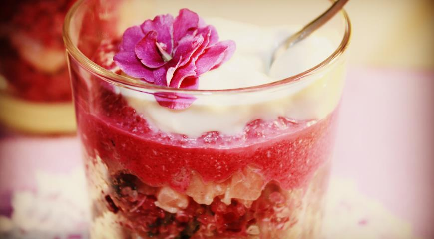 Beetroot Verins with Quinoa and Lightly Salted Salmon