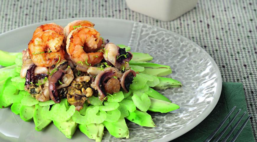 Seafood Salad with Curry