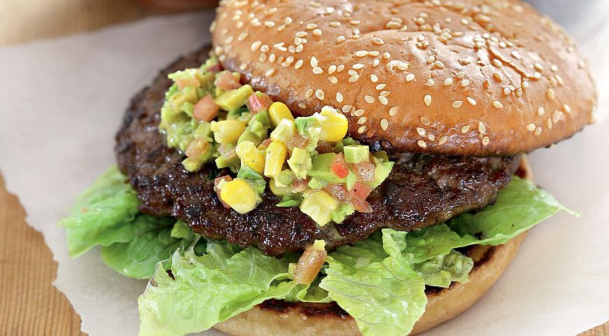 Burgers with Avocado