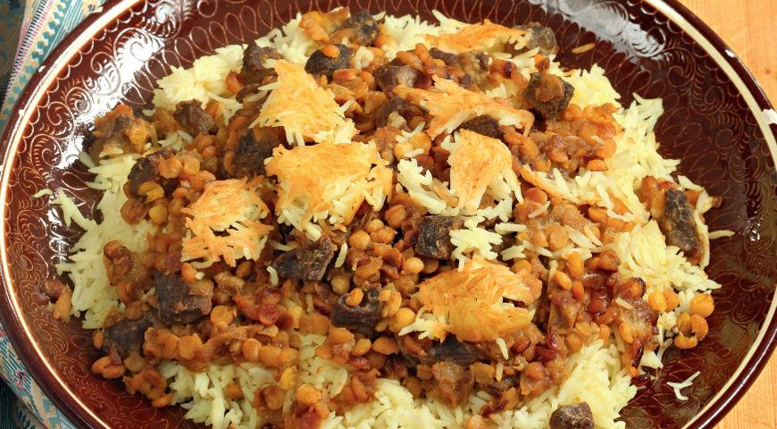 Pilaf with Lamb and Quince