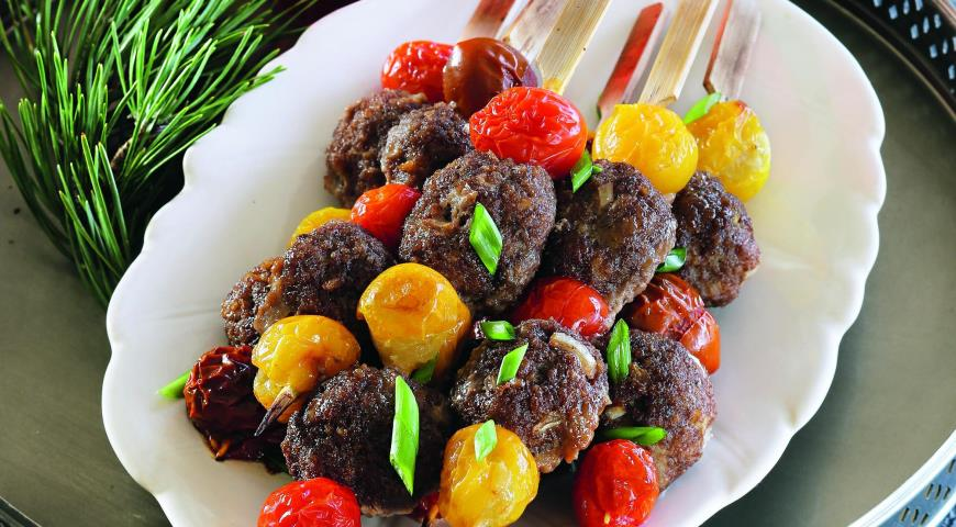 Meatballs with Skewers