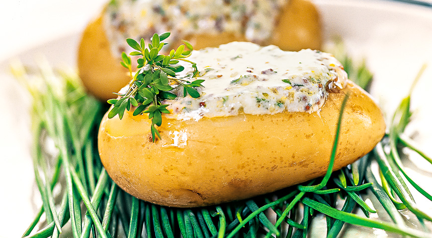 Young Potatoes with Lemon-mint Dressing