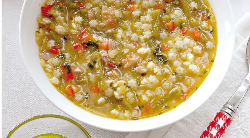 Mediterranean Rabbit Soup