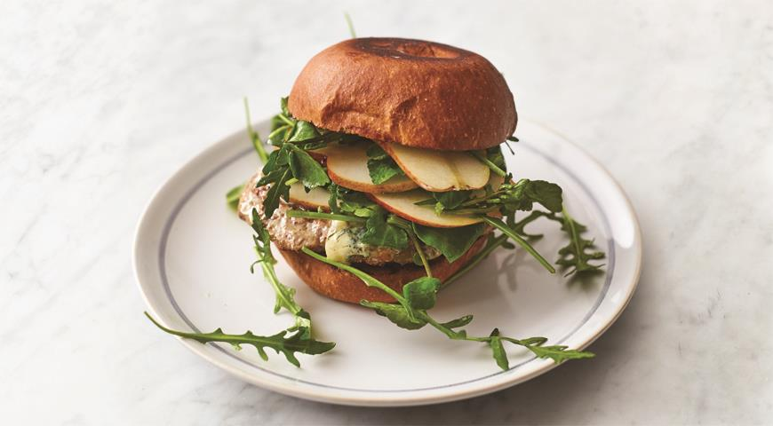 Awesome Pork Burgers by Jamie Oliver