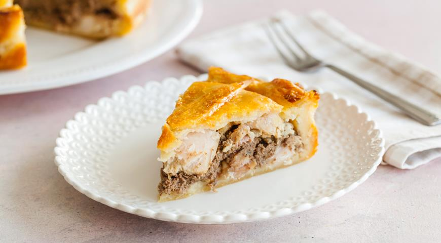 Rabbit Pie with Pate