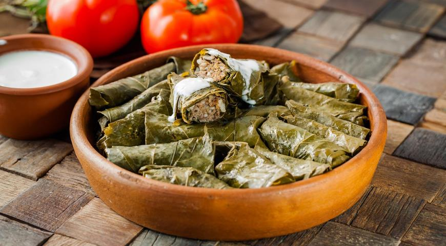 Dolma with Lamb and Beef