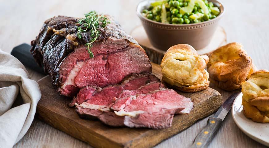 Low-temperature Roast Beef