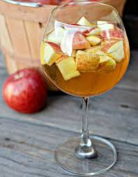 Red apple and citrus sangria