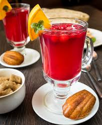 cranberry and honey drink