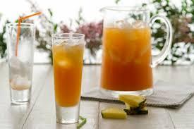 Jungle invigorating cocktail