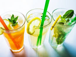 Delicious and healthy lemonade for children