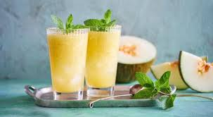 Melon pop with ginger