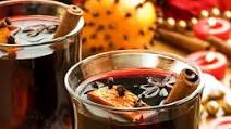 Mulled wine with coffee and cognac