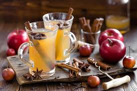 Apple Hot Cider with Bourbon