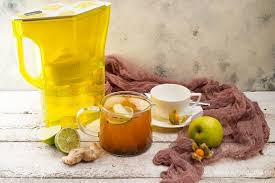 German apple-ginger compote