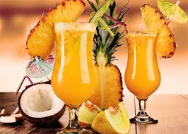 Bomba pineapple cocktail