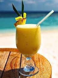 Batida Banana Cocktail
