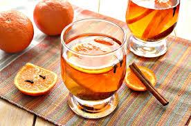 Cinnamon tangerine drink