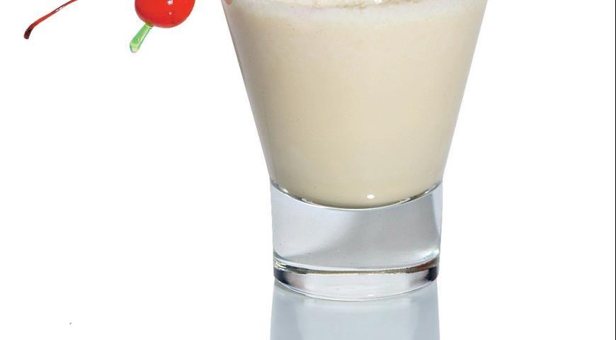 Moroccan milk sorbet
