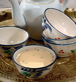 Tatar tea with butter