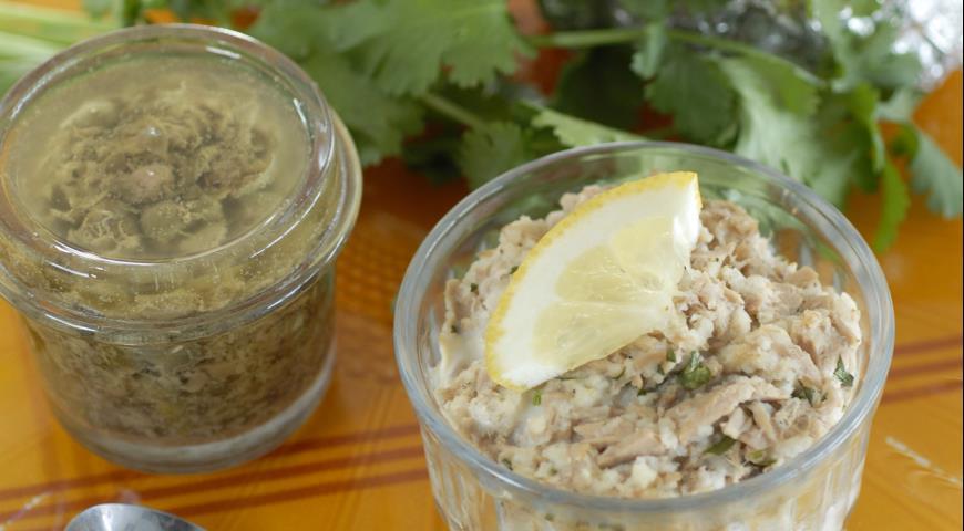 Canned tuna pate